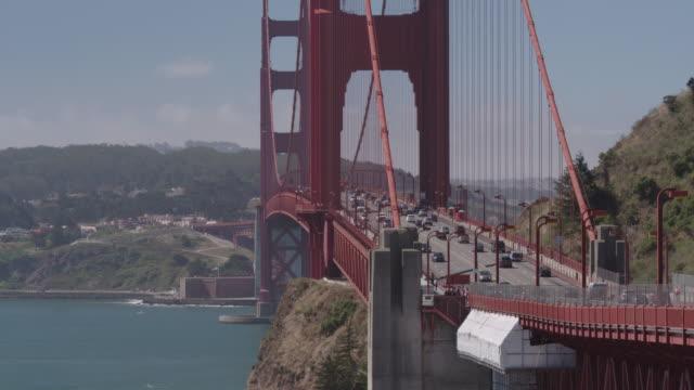 vídeos y material grabado en eventos de stock de golden gate bridge - vector