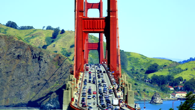 golden gate bridge - route 001 stock videos & royalty-free footage