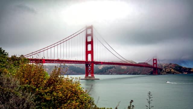 golden gate bridge - golden gate bridge stock videos & royalty-free footage