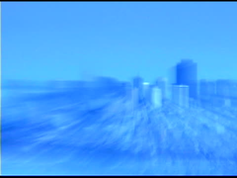 golden gate bridge zoom in on city of san francisco, california - getönt stock-videos und b-roll-filmmaterial