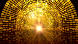 Golden Glittering Gate