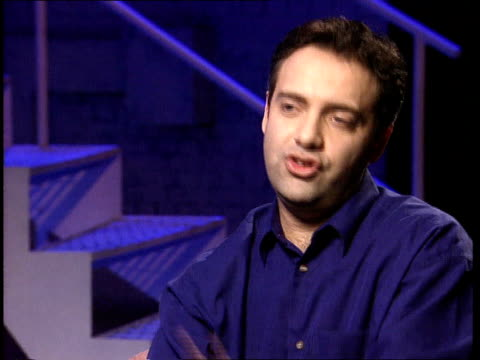 golden globe awards itn sam mendes interviewed sot gave me the chance in the first place / told me to use my instincts - sam mendes stock videos & royalty-free footage