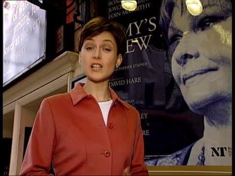 vídeos de stock, filmes e b-roll de itn england london aldwych theatre ext i/c - aldwych theatre