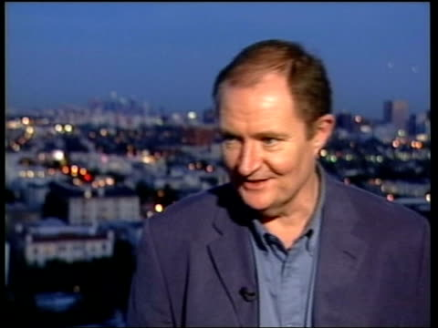preview dusk jim broadbent interview sot if i was younger i might get a bit excited/ maybe i'll tell you different tomorrow day i/c - best supporting actor stock videos & royalty-free footage