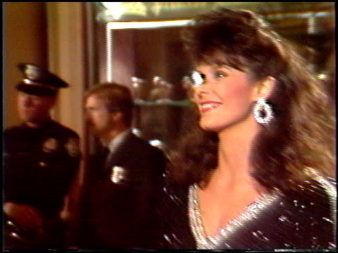 golden globes 1988 at the 1988 golden globe awards at the beverly hilton in beverly hills, california on january 23, 1988. - 1988 stock videos & royalty-free footage