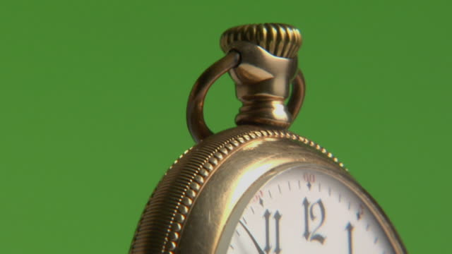 ecu, td, golden pocket watch - pocket watch stock videos & royalty-free footage