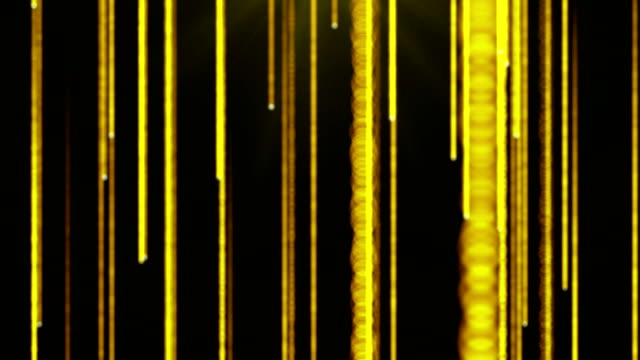 golden rain background - 4k resolution - yellow background stock videos and b-roll footage