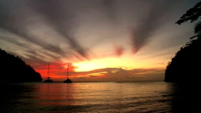 Gouden zonsondergang 02