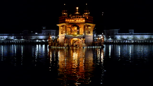 golden temple hd video - punjab india stock videos and b-roll footage