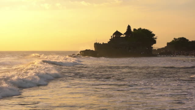 Golden time at Tanah Lot, Bali, Indonesia
