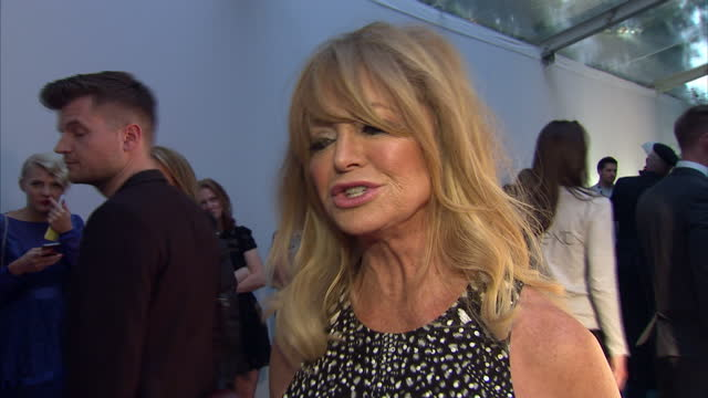 Goldie Hawn actress on how Hollywood has changed The Glamour Awards took place on June 02 2015 in London England