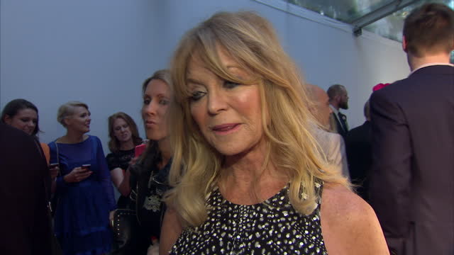 Goldie Hawn actress on working with her foundation The Glamour Awards took place on June 02 2015 in London England