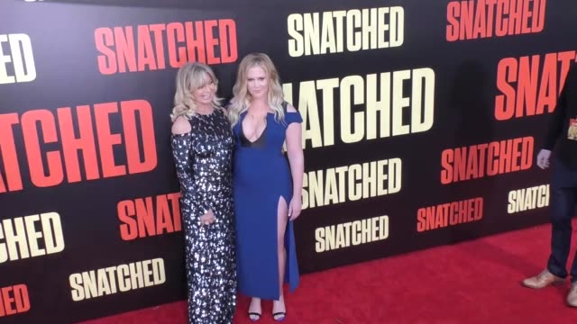 Goldie Hawn Amy Schumer at the Premiere Of 20th Century Fox's 'Snatched' Arrivals on May 10 2017 in Westwood California