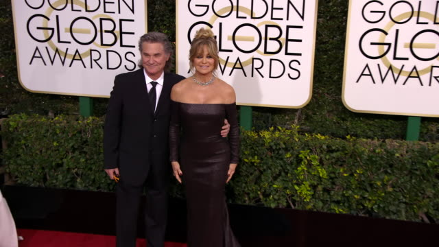 Goldie Hawn and Kurt Russell at 74th Annual Golden Globe Awards Arrivals at 74th Annual Golden Globe Awards Arrivals at The Beverly Hilton Hotel on...