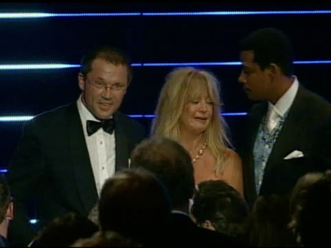 Goldie Hawn and Terrence Howard at the Playing For Good Philanthropic Summit 2007 in Mallorca on September 1 2007