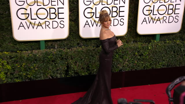 Goldie Hawn at 74th Annual Golden Globe Awards Arrivals at 74th Annual Golden Globe Awards Arrivals at The Beverly Hilton Hotel on January 08 2017 in...