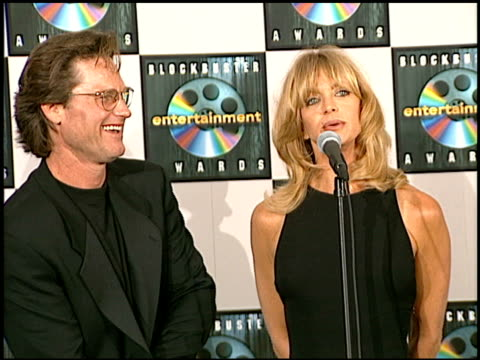 Goldie Hawn at the Blockbuster Awards at Hollywood Pantages Theater in Hollywood California on March 11 1997