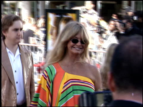 Goldie Hawn at the Dreamer Premiere on October 9 2005