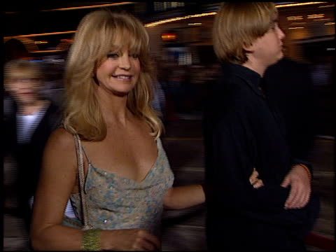 Goldie Hawn at the Premiere of 'The Four Feathers' on September 17 2002