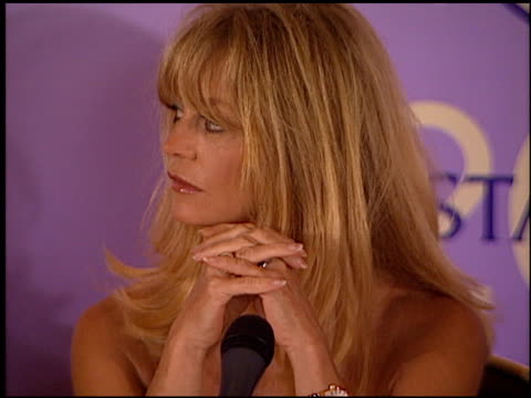 Goldie Hawn at the Women in Film Awards on June 9 2000