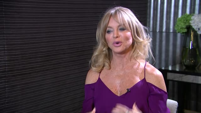 Goldie Hawn interview Goldie Hawn interview SOT re Private Benjamin