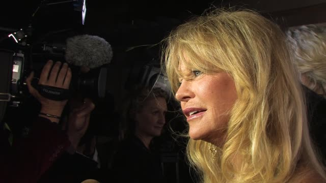 Goldie Hawn on being in Venice The Hawn Foundation and it's work at de Grisogono Party 64th Cannes Film Festival on May 17 2011 in Antibes France