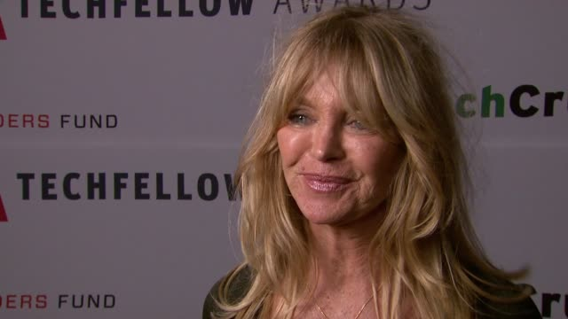 Goldie Hawn on the tech community at TechFellow Awards 2012 in San Francisco CA on 2/22/2012