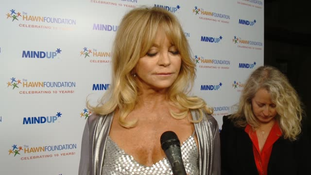 CHYRON Goldie Hawn's Inaugural 'Love In For Kids' Benefitting The Hawn Foundation's MindUP Program Transforming Children's Lives For Greater Success...