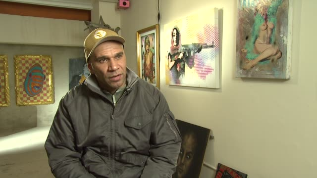 goldie on how the depth of his work stands for itself despite his celebrity he was an artist before he became a celebrity and therefore his work has... - goldie stock videos & royalty-free footage