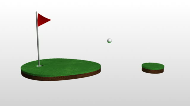 golf 01 hole in one - golf flag stock videos and b-roll footage