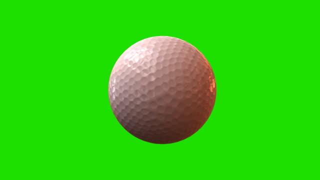(HD 1080) LOOP  Golf Ball