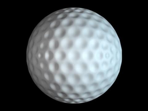 golf ball - artbeats bildbanksvideor och videomaterial från bakom kulisserna