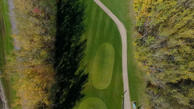 golf course footage - golfplatz green stock-videos und b-roll-filmmaterial