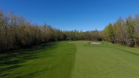 vídeos y material grabado en eventos de stock de golf course footage - campo lugar deportivo