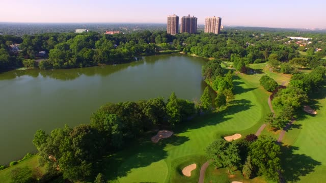 golf course on long island - long island video stock e b–roll