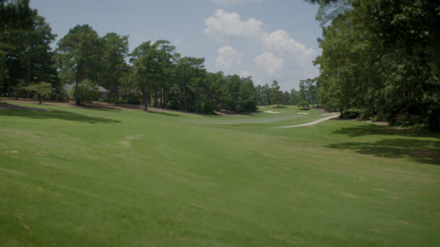 golf course - scenic fairway - green golf course stock videos & royalty-free footage