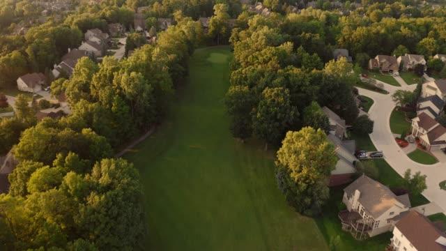 ゴルフコース - ゴルフのティー点の映像素材/bロール