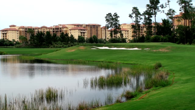 golf course - orlando florida stock videos & royalty-free footage