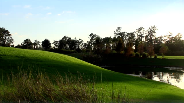 golf course - golf stock videos and b-roll footage