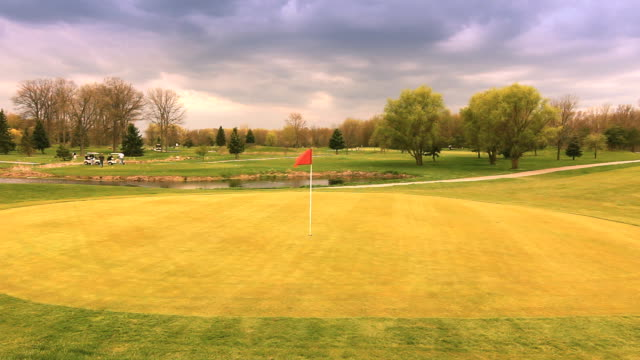 golf court - golf cart stock videos & royalty-free footage