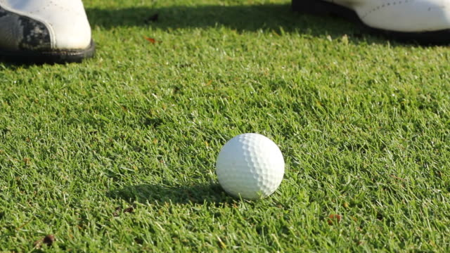 golf swing - golf swing stock videos and b-roll footage