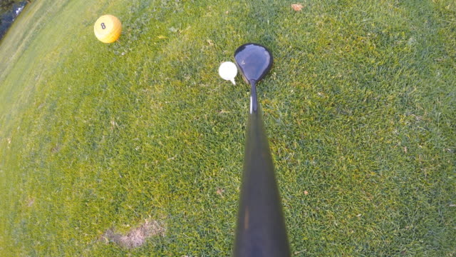 golf swing - golf swing stock videos & royalty-free footage