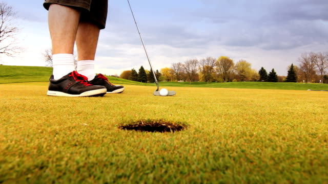 golf - golf shoe stock videos & royalty-free footage