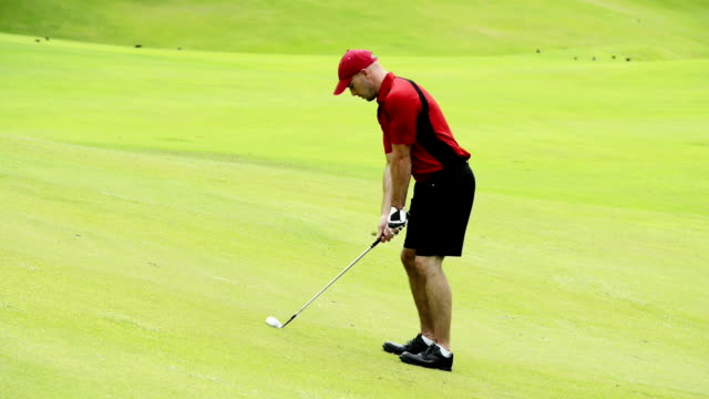 golf - professional sport stock videos & royalty-free footage