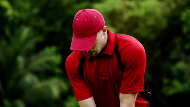 vídeos y material grabado en eventos de stock de de golf - swing de golf