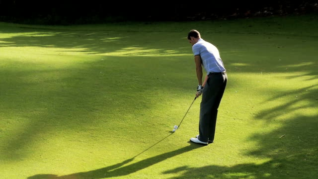golfer in action - golfer stock videos & royalty-free footage