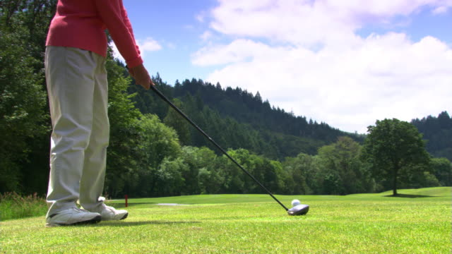 golfer swinging - see other clips from this shoot 1271 stock videos & royalty-free footage