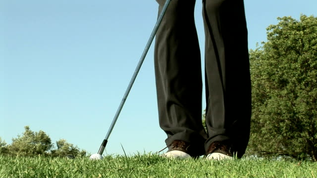 golfing - golf shoe stock videos & royalty-free footage