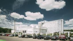 Gomel, Belarus. Building Of Repablican Scientific Center For Radiation Medicine And Human Ecology