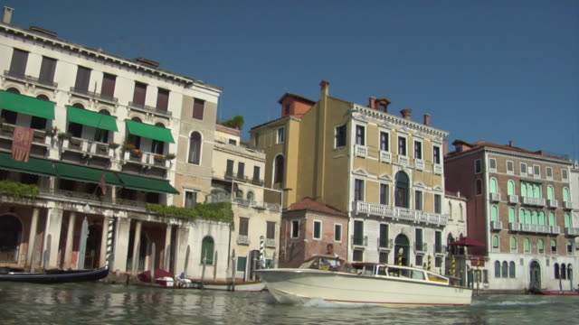 rear pov, gondola on grand canal, venice, italy - unknown gender stock videos & royalty-free footage